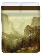 Hunting In Yosemite Duvet Cover