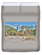 Hunting Island - Beach View Duvet Cover