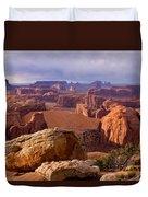 Hunts Mesa Arizona Duvet Cover