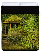 Hut In The Forest Duvet Cover