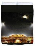 Hutto Hippo Stadium Duvet Cover