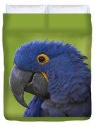 Hyacinth Macaw Portrait Duvet Cover