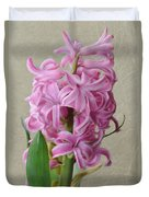 Hyacinth Pink Duvet Cover
