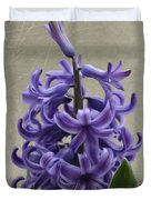 Hyacinth Purple Duvet Cover