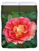 Hybrid Tea Rose  Duvet Cover