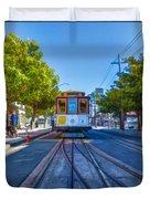 Hyde Street Trolley Duvet Cover
