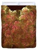 Hydrangea Fractal Blossoms Duvet Cover