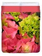 Hydrangea Joy Duvet Cover