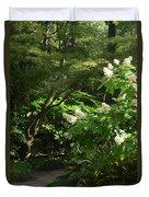 Hydrangea Path Duvet Cover