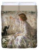 Hydrangeas, 1901 Duvet Cover