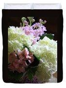 Hydrangeas Bouquet Duvet Cover