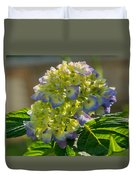 Hydrangeas First Blush Duvet Cover