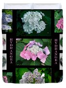 Hydrangeas On Parade Duvet Cover