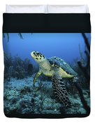 I Am A Proud Hawksbill Turtle Duvet Cover