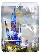 We Are Life, Liberty And The Pursuit Of Happiness, As We Create Reality Both Individually - Winter 6 Duvet Cover