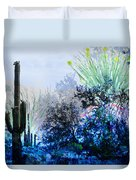 I Am.. The Arizona Dreams Of A Snow Covered Christmas, Regardless Of Our Interpretation Of- Winter 1 Duvet Cover