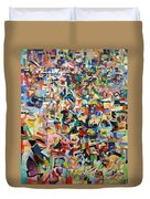 I Believe This And Understand It Fully Well 17 Duvet Cover by David Baruch Wolk