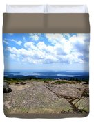 I Can See For Miles And Miles Duvet Cover