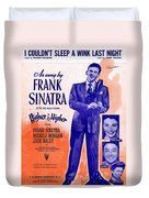 I Couldnt Sleep A Wink Last Night Duvet Cover