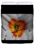 I Heart Flowers Duvet Cover