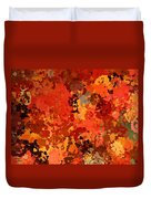 I Love Autumn Duvet Cover