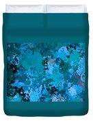 I Love Blue Duvet Cover