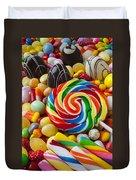I Love Candy Duvet Cover