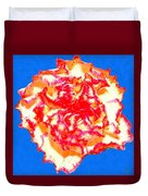 I Love Carnations Duvet Cover