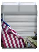I Pledge Allegiance Duvet Cover by Brian Wallace