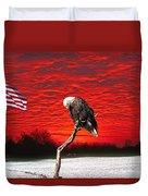 I Pledge Allegiance Duvet Cover