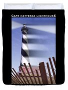 I Saw The Lighthouse Move Duvet Cover
