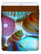 I Sell Seashells Down By The Seashore Duvet Cover