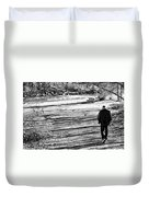 I Walk Alone Duvet Cover