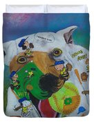 I Wanna Win Charlie Brown Duvet Cover