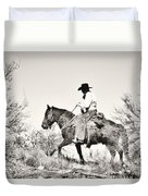 I Went Up To The Mountain... Duvet Cover