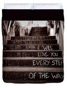 I Will Love You Duvet Cover by Bob Orsillo