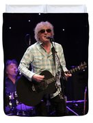 Ian Hunter And The Rant Band Duvet Cover