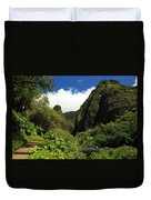Iao Needle - Iao Valley Duvet Cover
