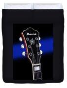 Ibanez Af75 Electric Hollowbody Guitar Headstock Duvet Cover