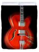Ibanez Af75 Hollowbody Electric Guitar Zoom Duvet Cover
