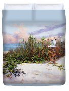 Ibis Sunset Duvet Cover