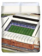 Ibrox Stadium Duvet Cover