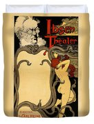 Ibsen Theater  Duvet Cover