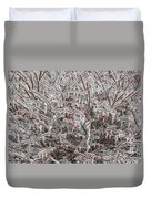 Ice Abstract 1 Duvet Cover