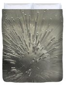 Ice Abstract II Duvet Cover