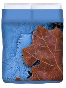 Ice And Life Duvet Cover