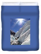 Ice And Sun Duvet Cover