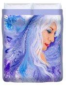Ice Angel Duvet Cover