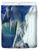 Ice Berg Up Close And Personal Duvet Cover