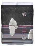 Ice Bergs Duvet Cover